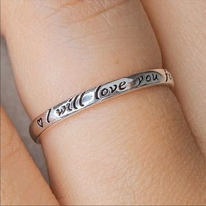 💝NEW Love Ring On Sterling Silver 925